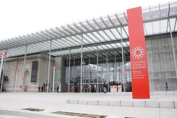 Academy of Sciences - vchod