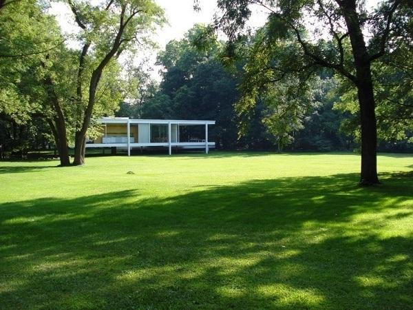 Farnsworth House - zahrada