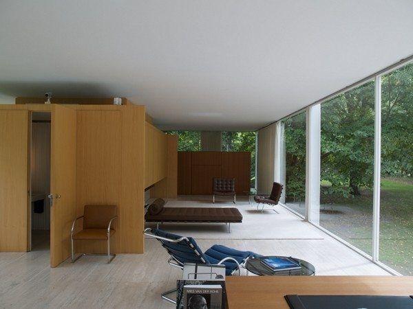 Farnsworth House - interiér