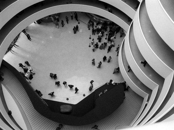 Guggenheimovo muzeum New York - atrium