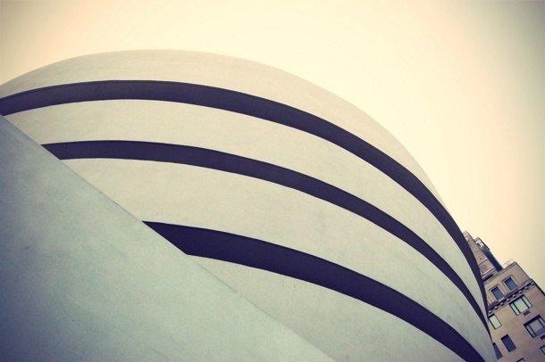 Guggenheimovo muzeum New York - exteriér