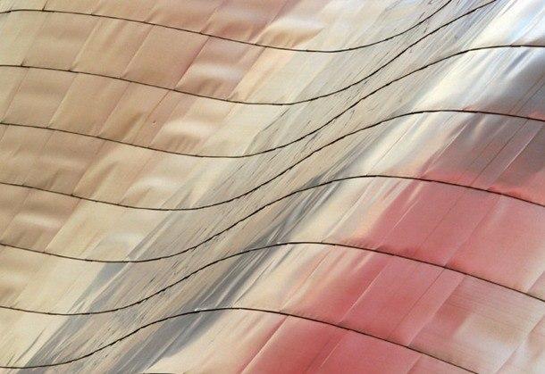 Guggenheimovo muzeum Bilbao - plášť