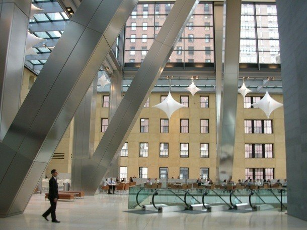 Hearst Tower - atrium