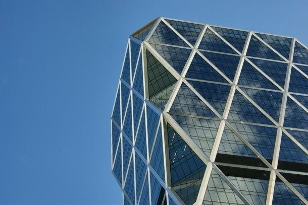 Hearst Tower - fasáda