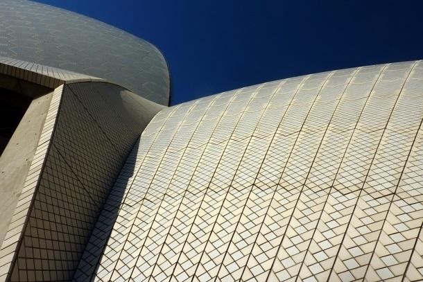 Opera v Sydney - plášť