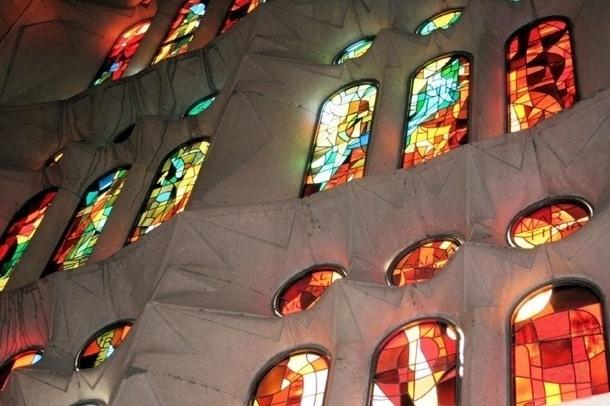 Sagrada Familia - okna
