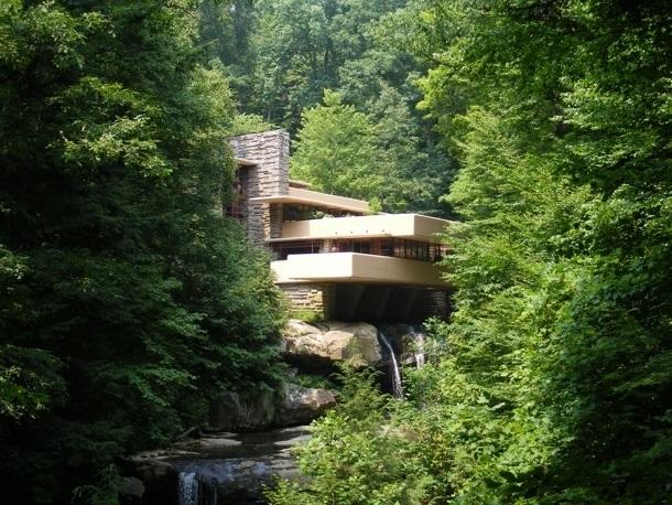 Vila nad Vodopádem - Fallingwater