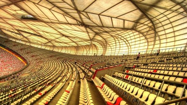 Olympijský stadion Peking - interiér