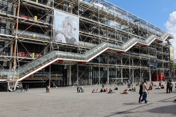 Renzo Piano - Centrum Pompidou