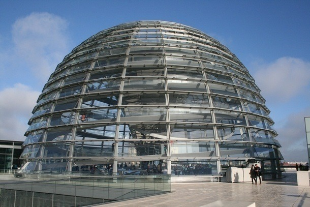 Berlin Reichstag - vnější kopule